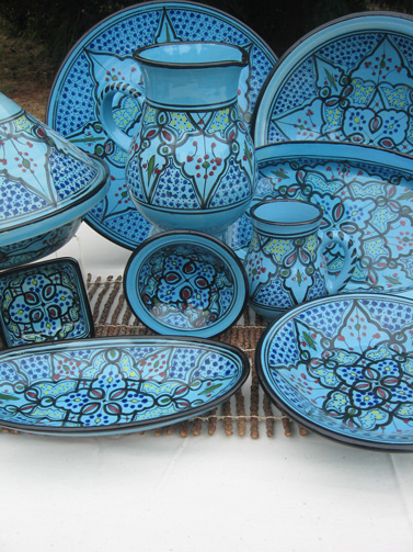 Enjoy a handcrafted holiday season by entertaining guests with 100% handmade ceramic dishware from Tunisia. & Entertaining the Fair Trade Way \u2013 Global Exchange