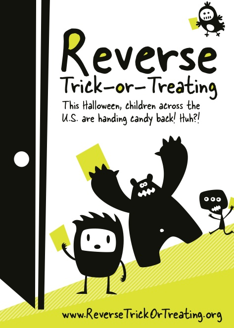 Reverse Trick-Or-Treating 2011