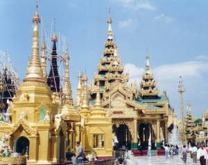 Burmese Temples