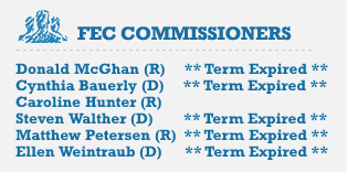 Update: Bauerly left the FEC on Feb. 1, 2013. Image courtesy of CREW (Citizens for Ethics in Washington)