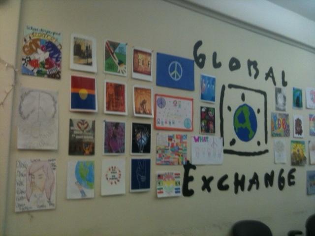 A wall of beautiful art!