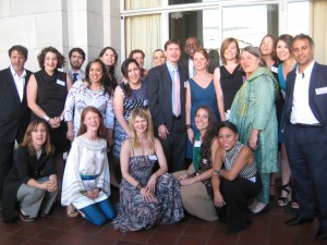 Global Exchange Staff all gussied up at the 2012 HRA