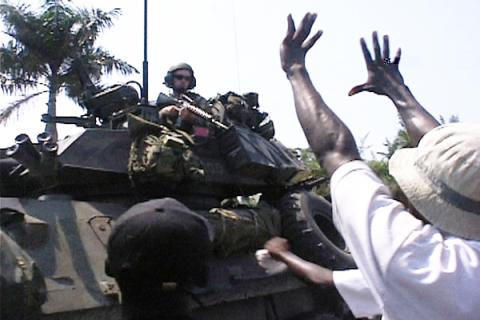 Haiti Protestor