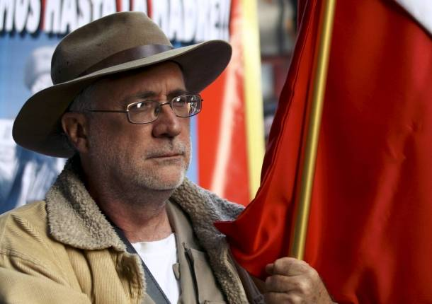 Mexican Poet & Activist Javier Sicilia