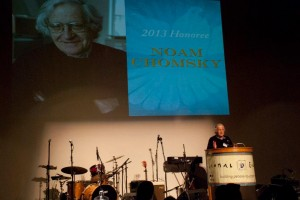 Noam Chomsky Human Rights Award speech