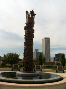 The Tower of Reconciliation by artist Ed Dwight.