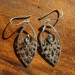 Fair Trade Sterling Silver and Blue Topaz Earrings