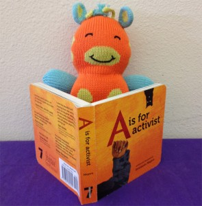 Fair Trade stuffed animals enjoy good books too!