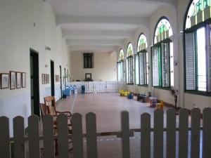 Play area for children in Convento de Belen