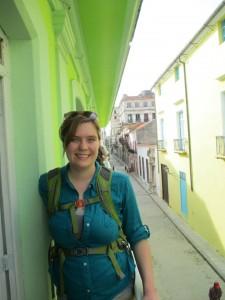 Kylie in Cuba