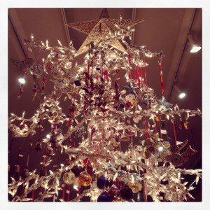 2013 Global Exchange's San Francisco Fair Trade store holiday tree in all its glory