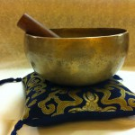 Singing bowl for Meditation Handmade in Tibet and available in Sf