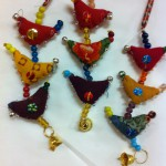 Prosperity Hens handmade in India intended to bring prosperity are available in our shops.