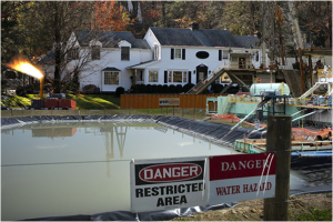 Toxic waste water cannot be treated. http://www.nofrackingway.us/2012/12/17/frackin-andys-house/