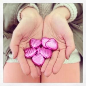 Gift of Membership Package item--Fair Trade chocolate hearts!