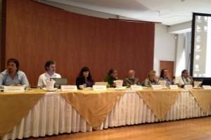The tribunal's international panel of judges.
