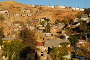 The community of Bella Vista in Nogales, Mexico