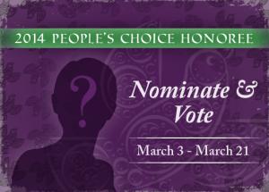 Human Rights Award Peoples Choice Award