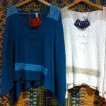 Indigenous organic cotton ponchos