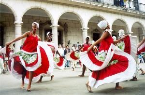 Cuban Women Dancing