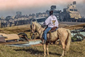 standing tall at standing rock